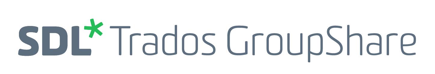 SDL Trados GroupShare 2017