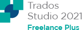 SDL Trados Studio 2021 Freelance Plus