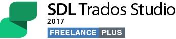 SDL Trados Studio 2015 Freelance frissítése SDL Trados Studio 2017 Freelance Plus verzióra + ingyenes frissítés Studio 2019 verzióra